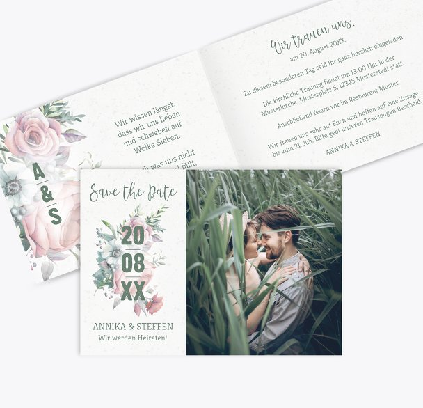 Hochzeit Einladung Verträumt