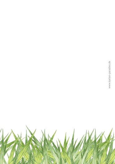 Ansicht 2 - Osterkarte Wiesennest