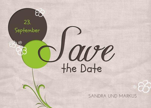 Ansicht 2 - Hochzeit Save the Date Fantasyflower