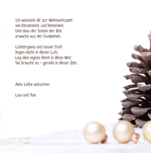 Ansicht 5 - Foto Grußkarte Weihnachtsengel