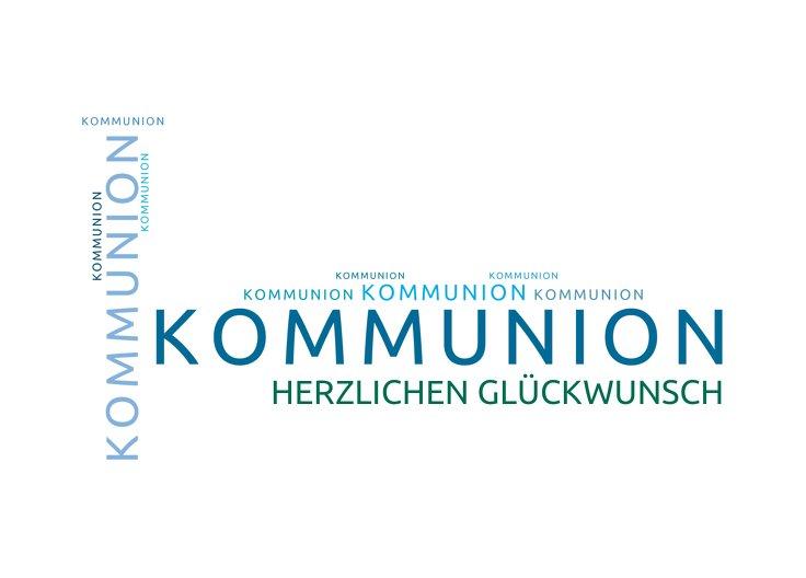 Ansicht 2 - Glückwünsche zur Kommunion Script