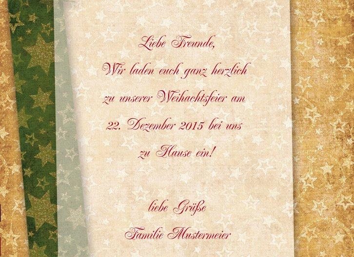 Ansicht 5 - Einladung Goldenes Geschenk