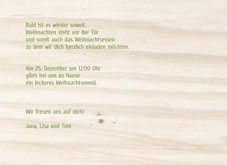 Ansicht 5 - Foto Einladung Holzelch