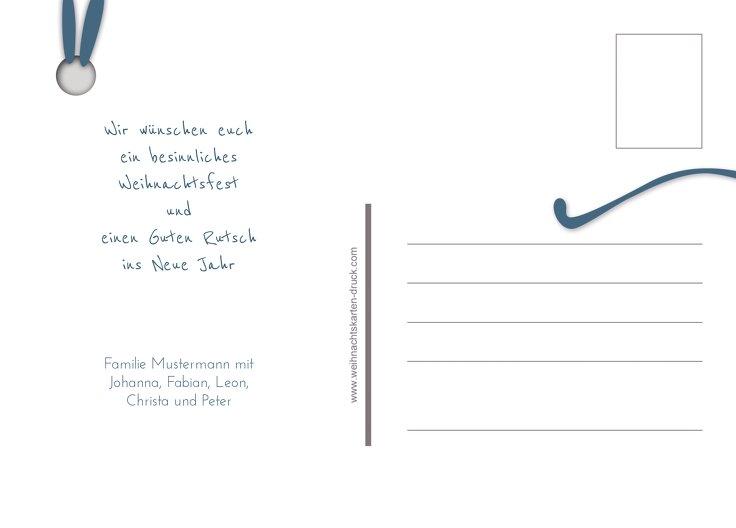 Ansicht 3 - Foto Grußkarte Geschenkanhänger