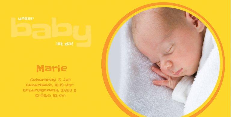 Ansicht 6 - Babykarte Baby