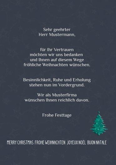 Ansicht 5 - Weihnachtsgrußkarte Baum