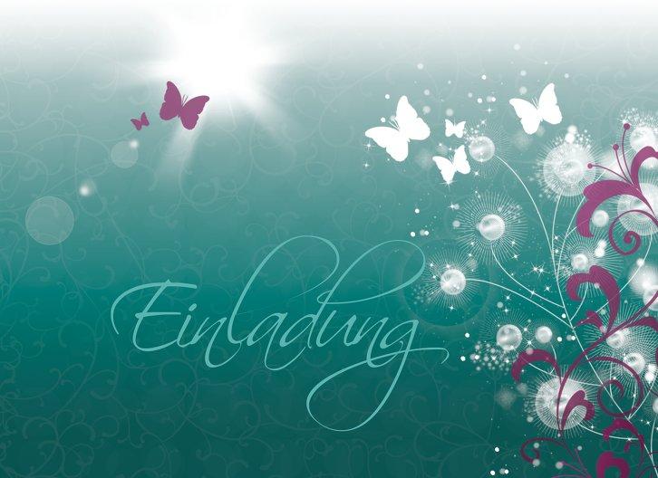 Ansicht 3 - Einladungskarte zum Geburtstag beautiful