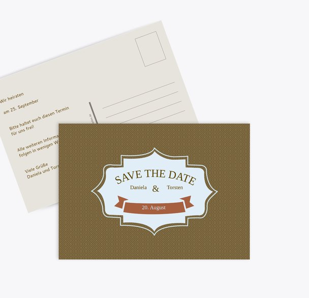 Save-the-Date Harmonie