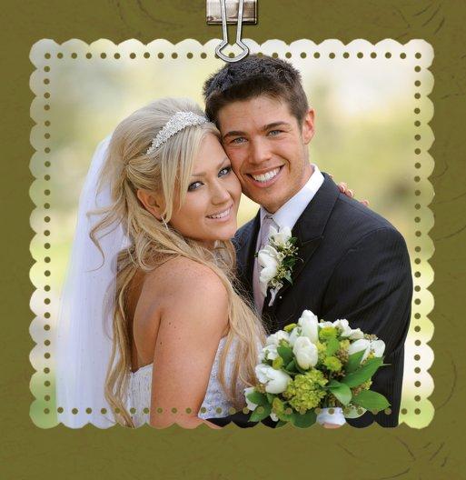 Ansicht 6 - Hochzeit Dankeskarte Liebesnachricht