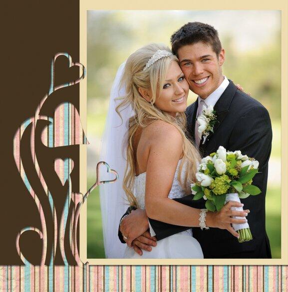 Ansicht 4 - Hochzeit Dankeskarte Wir heiraten