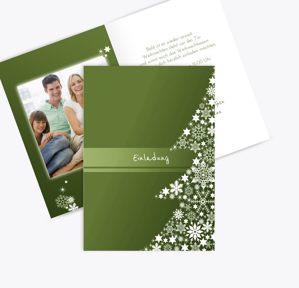 Foto Einladung Sternenbaum