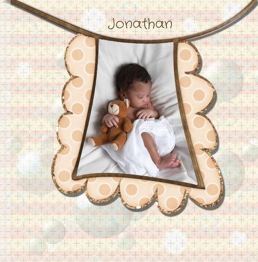Ansicht 7 - Geburtskarte Babyelements