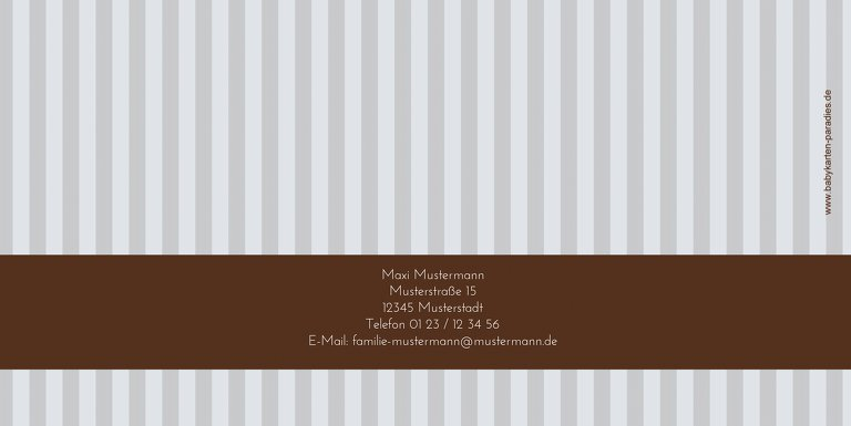 Ansicht 2 - Konfirmation Danke stripes-buttons