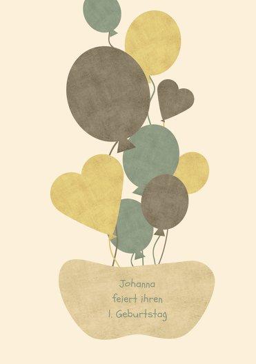 Ansicht 3 - Einladung Airballoons