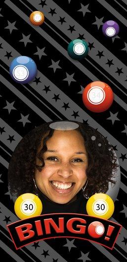 Ansicht 4 - Einladung zum Geburtstag Bingo 30 Foto