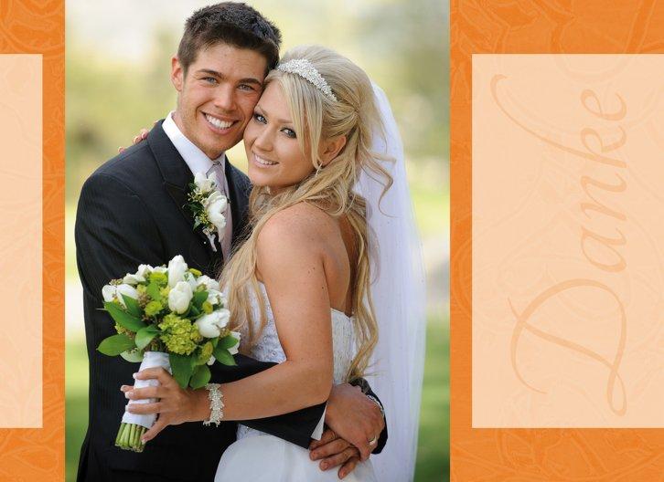 Ansicht 4 - Hochzeit Dankeskarte Hochzeitsglück