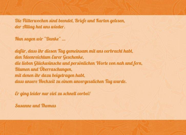 Ansicht 5 - Hochzeit Dankeskarte Hochzeitsglück