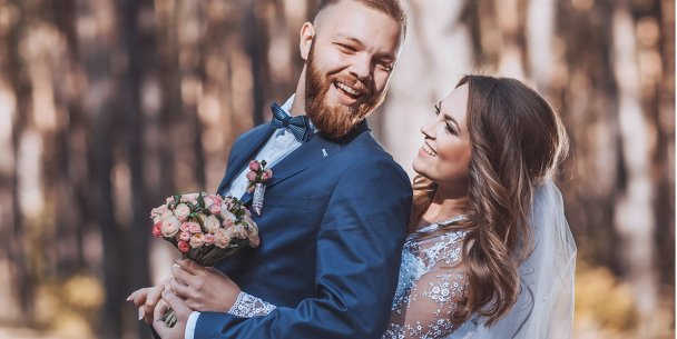 Ansicht 4 - Hochzeit Dankeskarte Blauregen