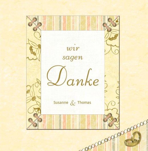 Ansicht 3 - Hochzeit Dankeskarte Bund für's Leben