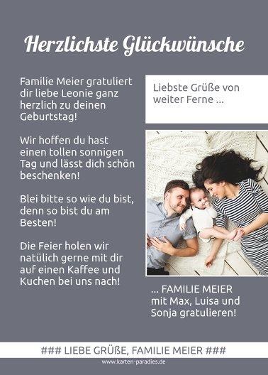 Ansicht 3 - Glückwunschkarte zum Geburtstag Magazin