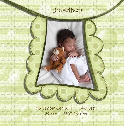 Ansicht 5 - Baby Dankeskarte babyelements
