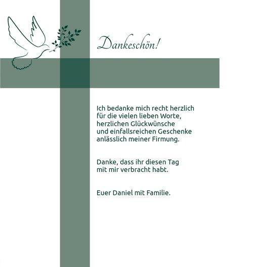 Ansicht 5 - Firmung Dankeskarte Glaubensbote