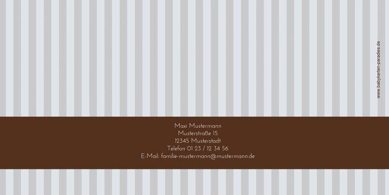 Ansicht 2 - Firmkarte stripes-buttons