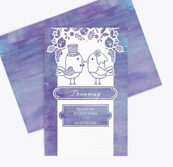 Kirchenheft Umschlag Vogelpaar