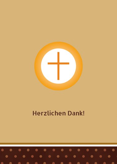 Ansicht 2 - Konfirmation Danke Kreuzhostie