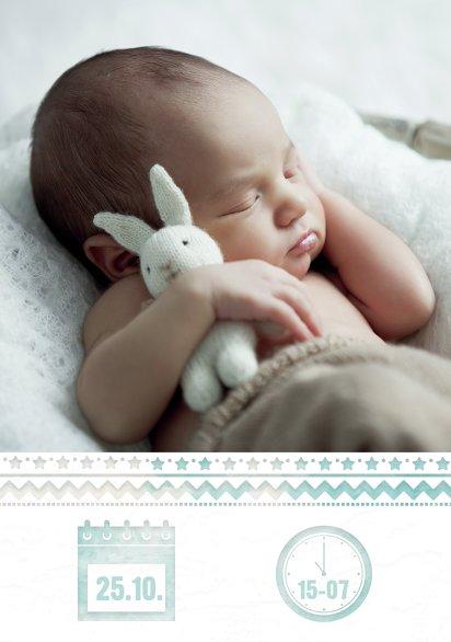 Ansicht 4 - Baby Dankeskarte Ballonfahrt