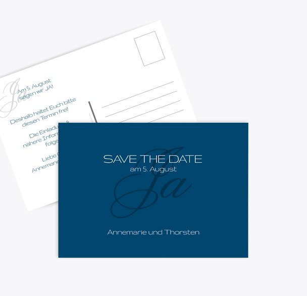 Save-the-Date Sagja