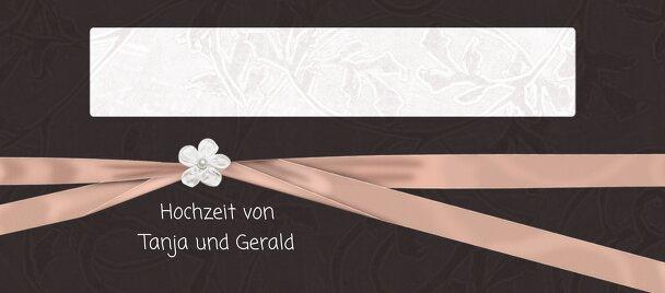 Ansicht 3 - Hochzeit Tischkarte sanfte Blüte
