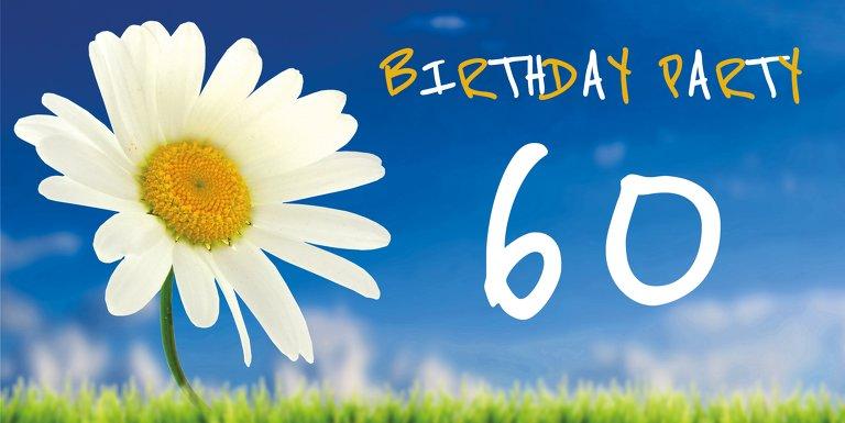 Ansicht 3 - Geburtstagseinladung Lebensfreude 60 Foto