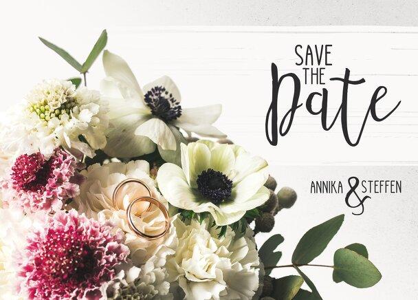 Ansicht 2 - Save-the-Date Bouquet
