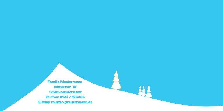 Ansicht 2 - Einladung Winterlandschaft