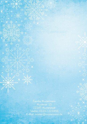 Ansicht 2 - Foto Einladung Wintertraum