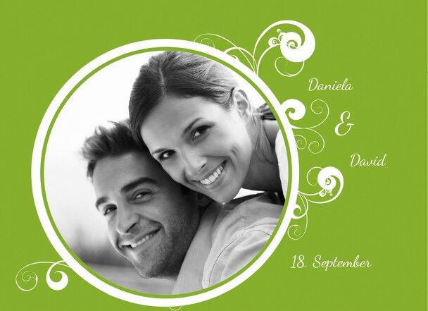 Ansicht 4 - Hochzeit Einladungskarte squiggle chubby