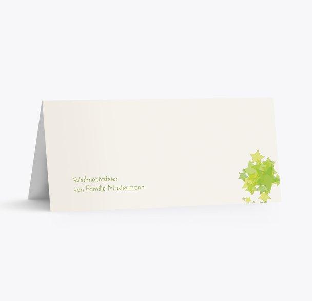 Tischkarte Designerbaum