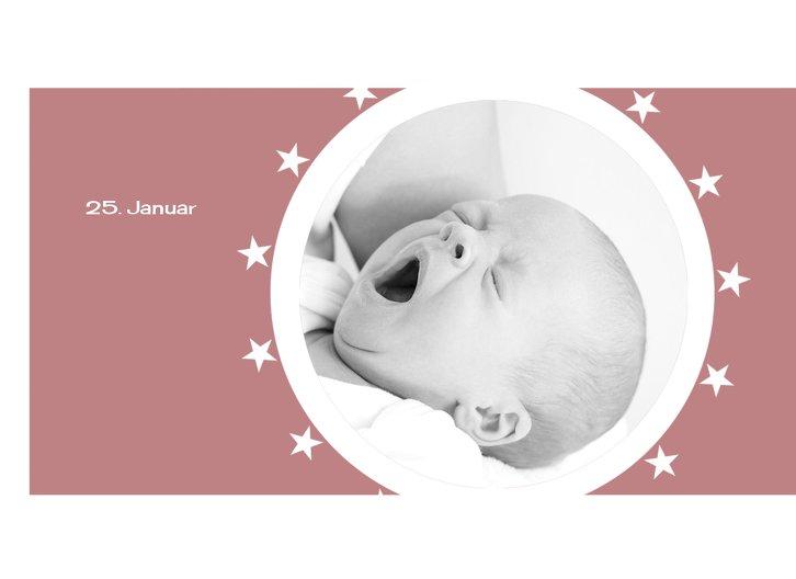 Ansicht 4 - Geburtskarte A new Star