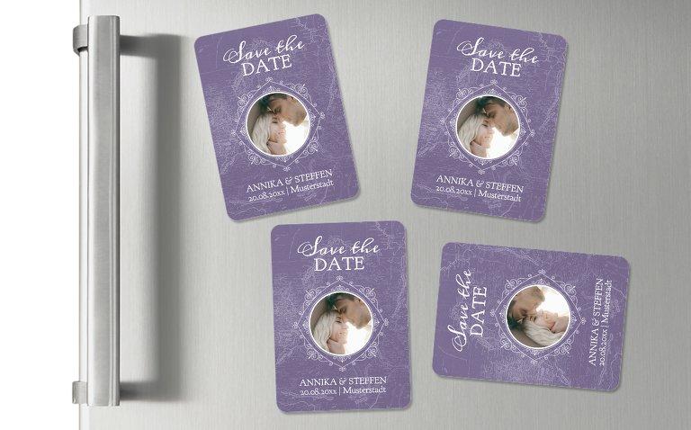 Hochzeits-Magnete Hochzeitspass