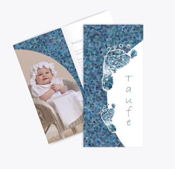 Taufkarte Erste Schritte