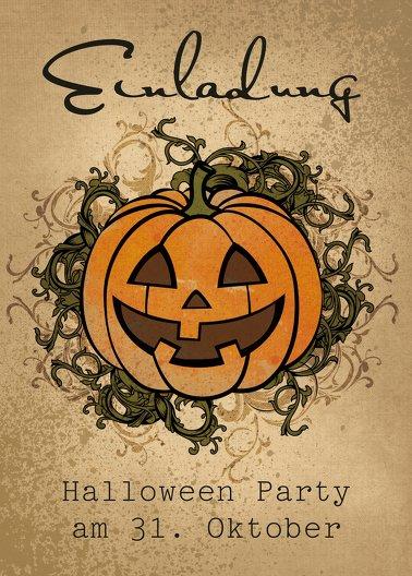 Ansicht 2 - Halloweenkarte Ornament