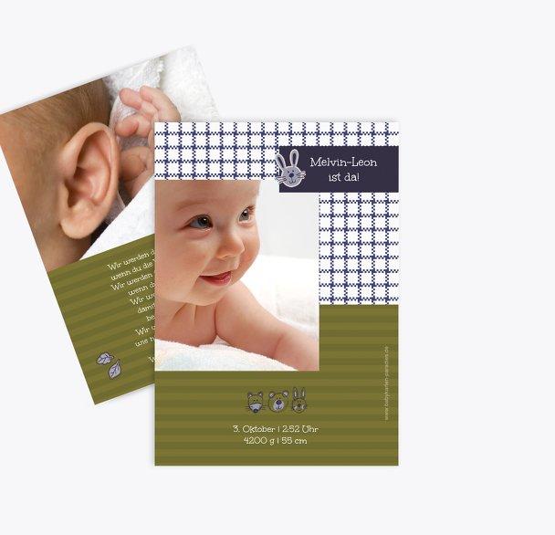 Babykarte Grid