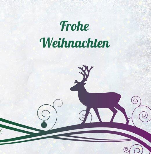 Ansicht 3 - Grußkarte Bunter Wintertraum