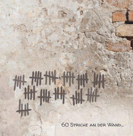 Ansicht 3 - Einladung Striche an der Wand 60