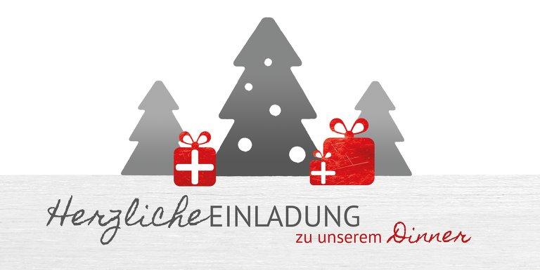 Ansicht 3 - Foto Weihnachtseinladung Geschenkebaum