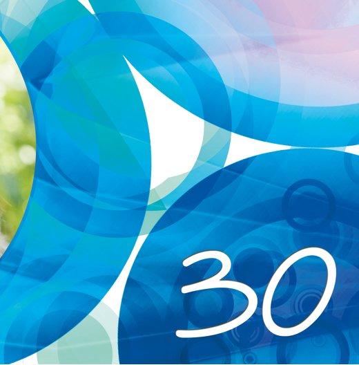 Ansicht 7 - Einladungskarte colorful circles 30 Foto