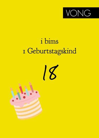 Ansicht 2 - Geburtstagseinladung i bims