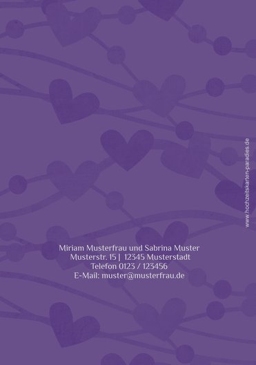 Ansicht 2 - Einladung Im Zeichen der Liebe - Frauen