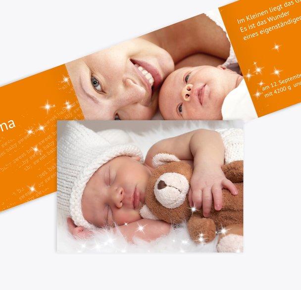 Babykarte Star